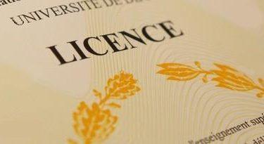 Obtenir sa licence de Droit