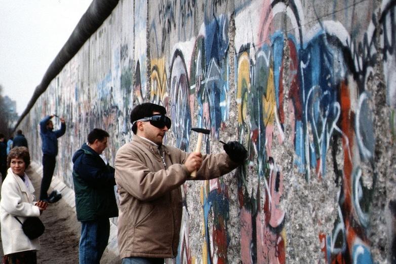 mur de Berlin des étudiants